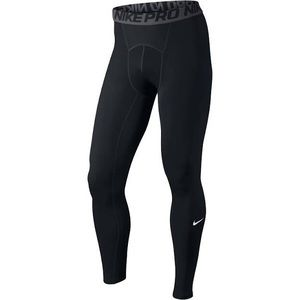 Nike Black Men's Dri-Fit Pro Tights Large